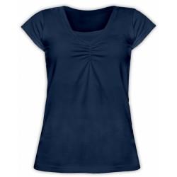 Kojící,těhotenské triko KARIN - jeans