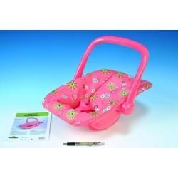 Nosítko pro panenky plast 25x42x34cm v sáčku