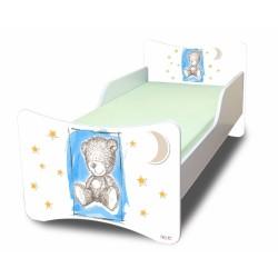 Dětská postel NELLYS Sweet TEDDY - modrý