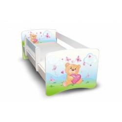 Dětská postel Medvídek se srdíčkem Nellys II.