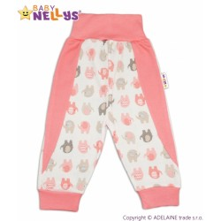 Tepláčky Baby Nellys ® SLONÍK - losos