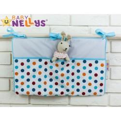 Praktický kapsář na postýlku Baby Nellys ® - č. 08