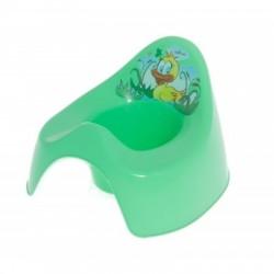 Nočník KAČENKA - barva  středně zelená