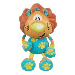 Edukační plyšová hračka s chrastítkem Baby Ono - Lev