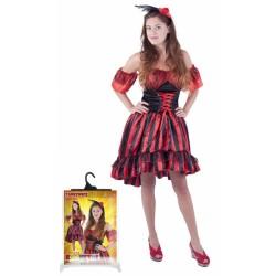Karnevalový kostým tanečnice Sally, dospělý, vel. M