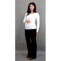 Těhotenské triko ELLIS - bílá