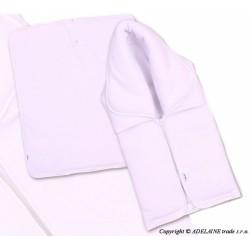 Multifunkční deka 3v1 MEDVÍDEK - bílá