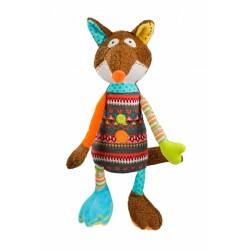 Edukační hračka Baby Ono - chrastítko - Liška