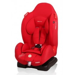 Autosedačka Strada 9-25kg  - červená 02