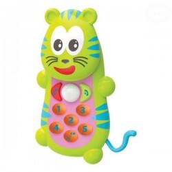 Edukační hračka Telefon Tygřík  Smily Play