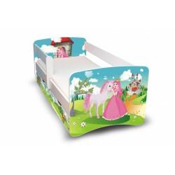 Dětská postel Princezna II. s šuplíkem