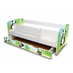 Dětská postel Panda II. s šuplíkem