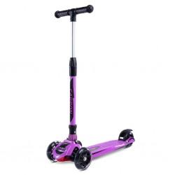 Dětská koloběžka Toyz Carbon purple, Fialová