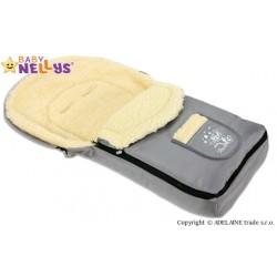 Multifunkční fusák VLNA 4v1 Baby Nellys ® - šedý