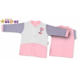 Košilka Baby Nellys ®  Balónek v růžové