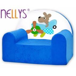Dětské křesílko/pohovečka Nellys ® - Pilot/letatýlko