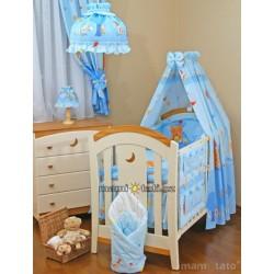 Noční lampička - Zámek modrý