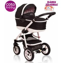 Kočárek APRILIA Coto Baby 2v1 - black