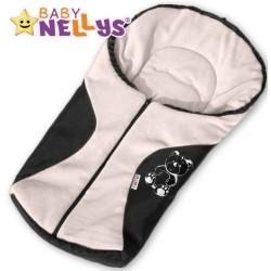 Fusák nejen do autosedačky Baby Nellys ® POLAR - smetanový medvídek