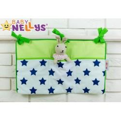 Praktický kapsář na postýlku Baby Nellys ® - č. 01