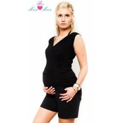 Těhotenské kraťasy BRIA - černé