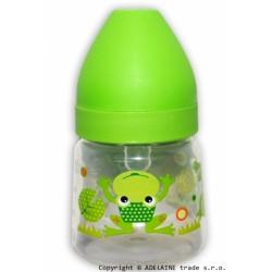 Lahvička Akuku 125ml - zelená se žabkou