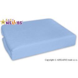 Nepromokavé prostěradlo Baby Nellys ® -  Sv. modrá