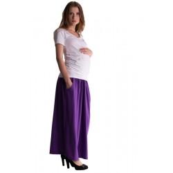 Maxi dlouhá sukně MAXINA  - fialová