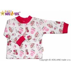Košilka se zap. uprostřed Baby Nellys ® - BERUŠKA