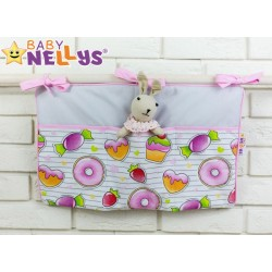 Praktický kapsář na postýlku Baby Nellys ® - č. 11
