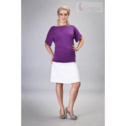 Elegantní těhotenská sukně MINGA - bílá