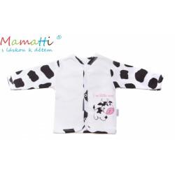 Bavlněná košilka Mamatti - Kravička