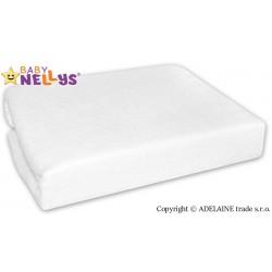 Nepromokavé prostěradlo Baby Nellys ® -  Bílé
