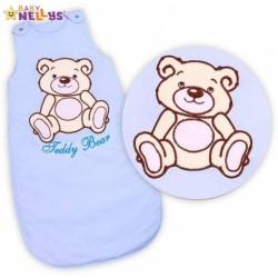 Spací vak TEDDY BEAR Baby Nellys - sv. modrý vel. 0+