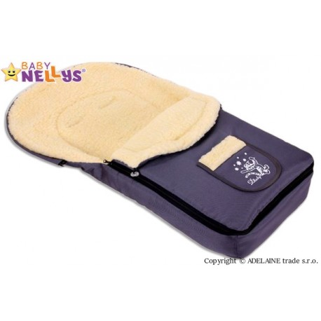 Multifunkční fusák VLNA 4v1 Baby Nellys ® - grafitový
