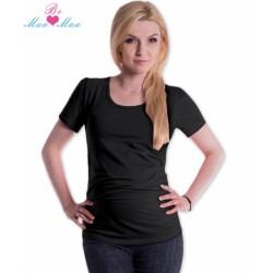 Triko JOLY bavlna nejen pro těhotné - černé