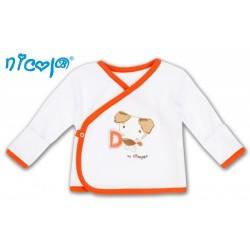 Novorozenecká košilka Pejsek