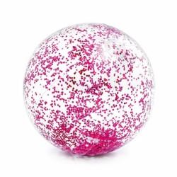 Nafukovací míč s flitry, 71 cm, 2 barvy