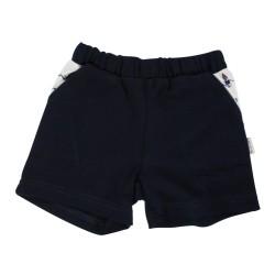 Kojenecké bavlněné kalhotky, kraťásky Mamatti Maják - granátové, vel. 80