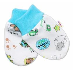 Kojenecké rukavičky Baby Nellys ® - Letadýlko