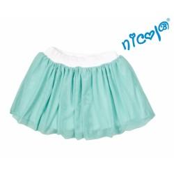 Dětská sukně Nicol,Mořská víla  - zelená