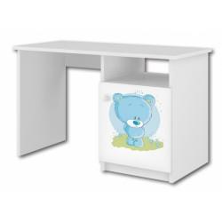 BabyBoo Psací stůl - Medvídek STYDLÍN modrý, D19