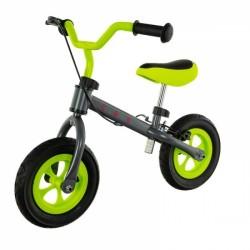Euro Baby Dětské odrážedlo, kolo Cool Air Baby - zeleno/šedé, kola 10&quot,