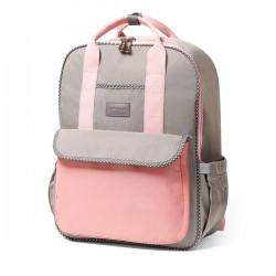 BabyOno Batoh, taška ke kočárku London Look + přebalovací podložka zdarma- růžová