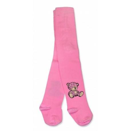 8af70b6c54d Bavlněné punčocháče Baby Nellys ® - Sweet Teddy - sv. růžové