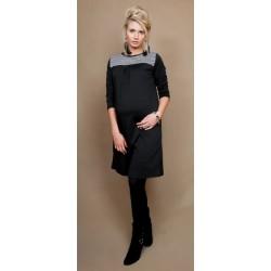 Těhotenské šaty/tunika LANA  dl. rukáv