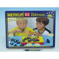 Stavebnice MERKUR E2 elektronic v krabici