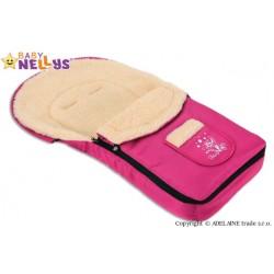 Multifunkční fusák VLNA 4v1 Baby Nellys ® - amarant