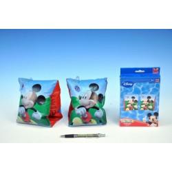 Rukávky Minnie/Mickey Mouse nafukovací 23x15cm 3-6let v krabičce asst 2 druhy