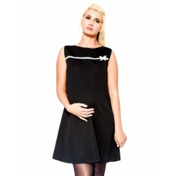 Těhotenské šaty/tunika DIOR - černé